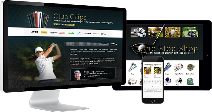 All Star Pro Golf eCommerce