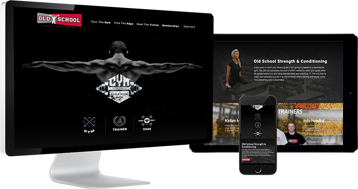 Old School Gym Website