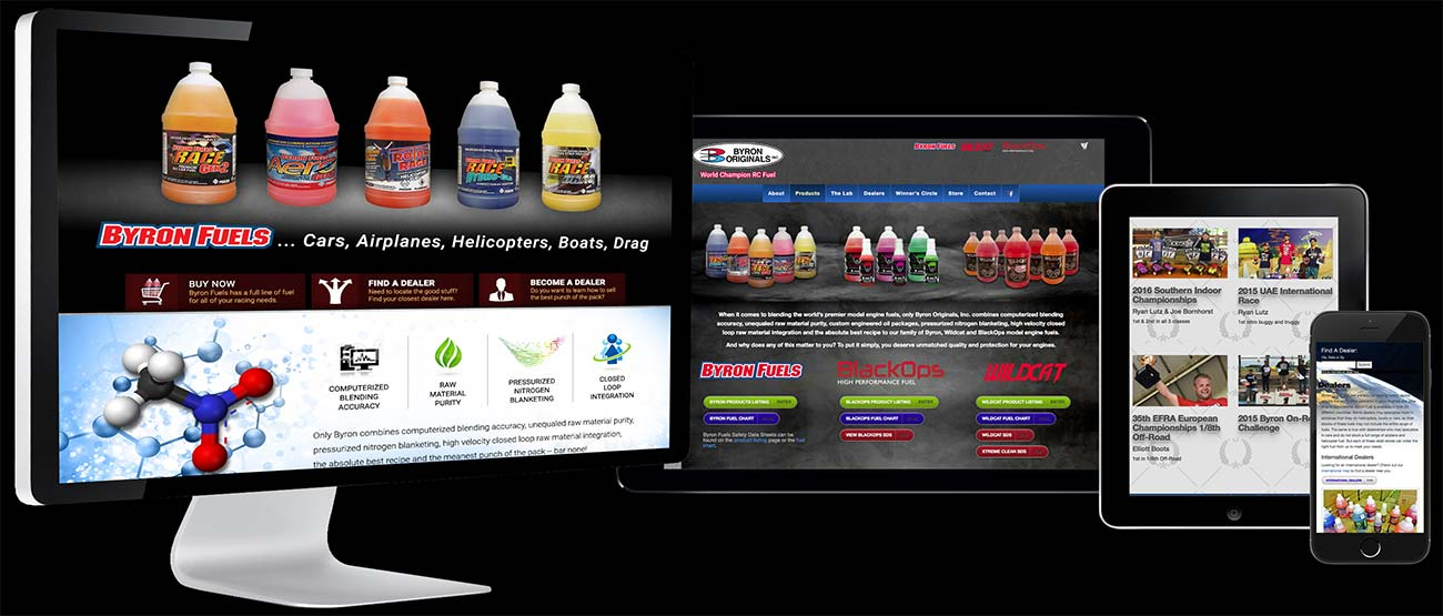 Byron Fuels Responsive Website