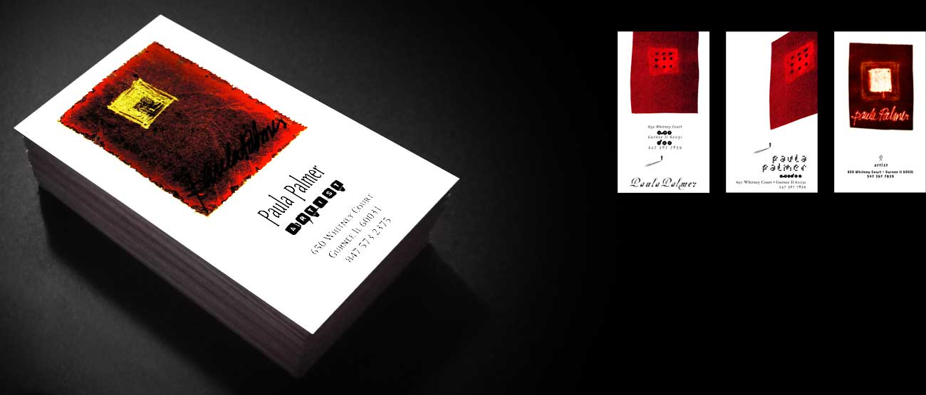 Business Card Design Artist